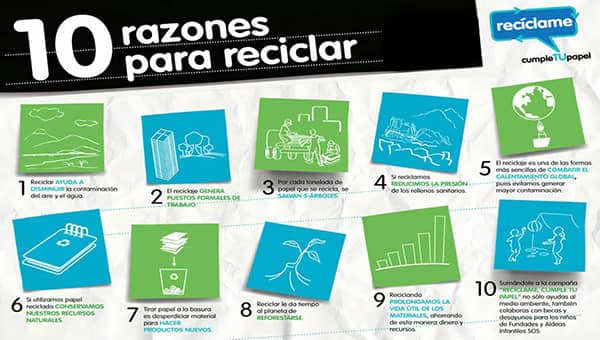 Tenemos más de diez Razones para Reciclar
