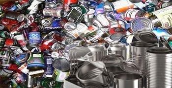 Latas chatarra aluminio Puntos de reciclaje