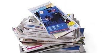 Periodico revistas Puntos de reciclaje