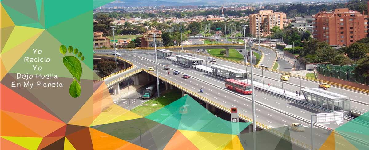 Ruta Recolección de reciclaje Bogota Localidad Suba