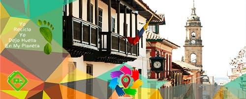 Rutas Recolección de reciclaje Bogota Localidad La Candelaria