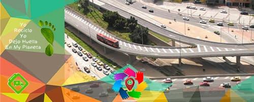 Ruta Recolección de reciclaje Bogota Localidad Puente Aranda