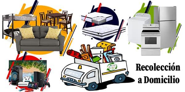 Donación de Reciclaje Enceres Muebles