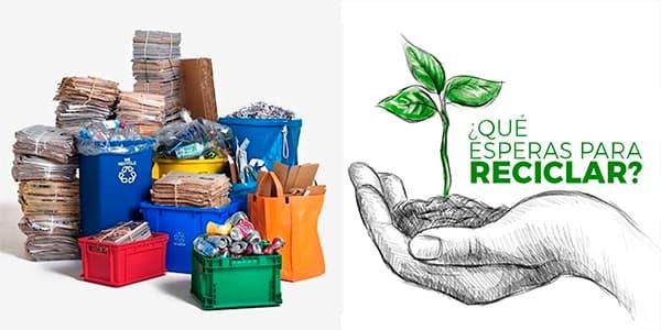 Donación de reciclaje