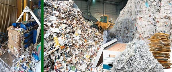 compra de papel Reciclado archivo periódico Puntos de Reciclaje